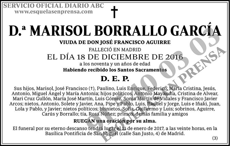 Marisol Borrallo García